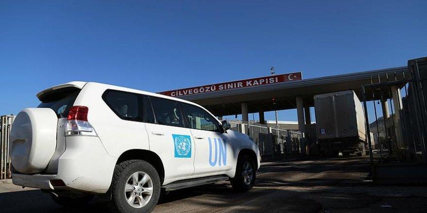 BM yardımları Cilvegözü'nden Suriye'ye geçti