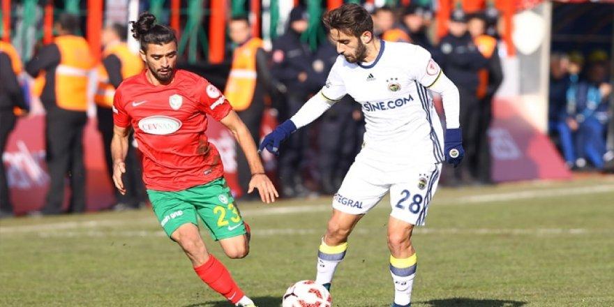 Fenerbahçe Amed Sportif'le berabere kaldı