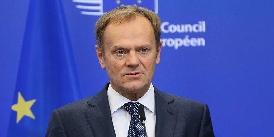 Tusk: AB ile Türkiye arasında gelecek aylarda zirve için çalışmalara başlandı