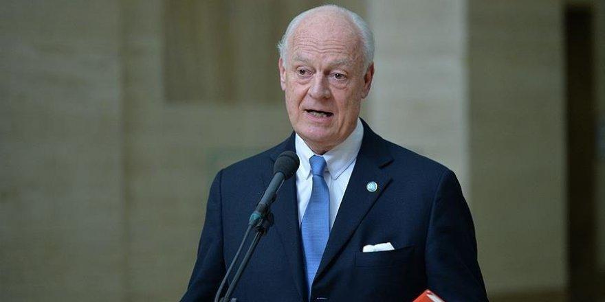 Astana'da BM heyetinin başında de Mistura olacak