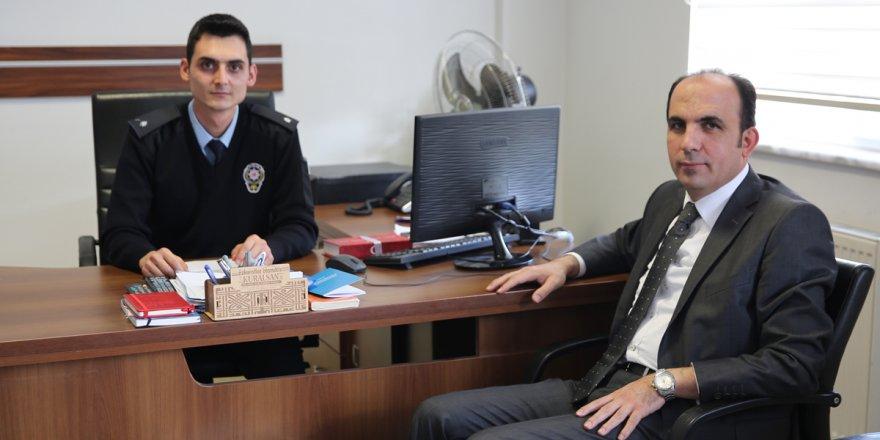 Başkan Altay'dan polis merkezlerine ziyaret