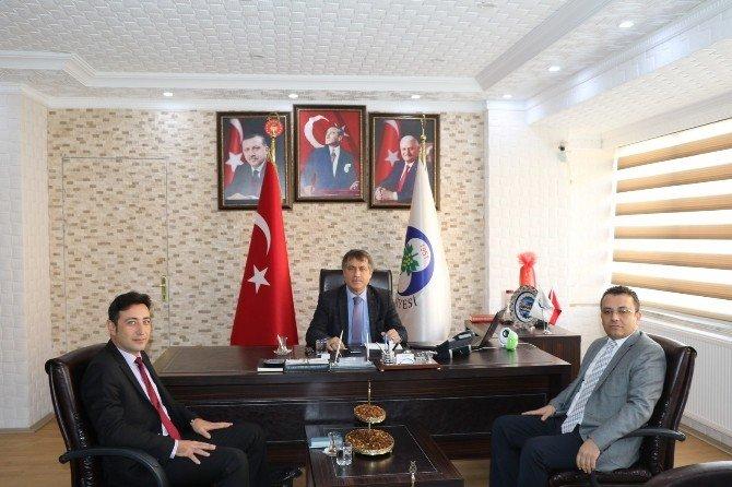 Ahmetli'nin projeleri konuşuldu