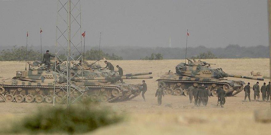 Fırat Kalkanı Harekatı'nda 2 asker yaralandı