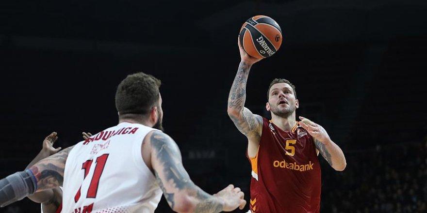 Galatasaray THY Avrupa Ligi'nde 4. galibiyetini aldı
