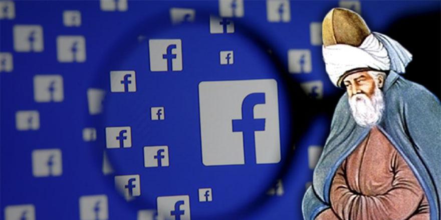 Facebook Mevlana'yı unutmadı