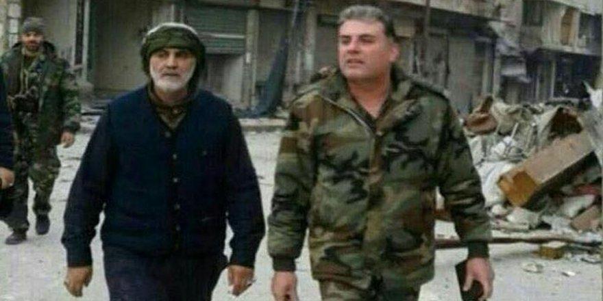 Kasım Süleymani katliam anlarında Halep'teydi