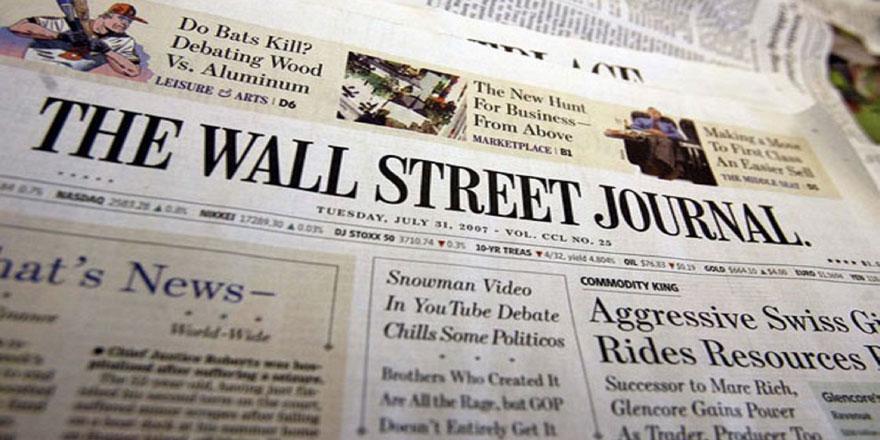 Amerikan Wall Street Journal'dan alçak sözler