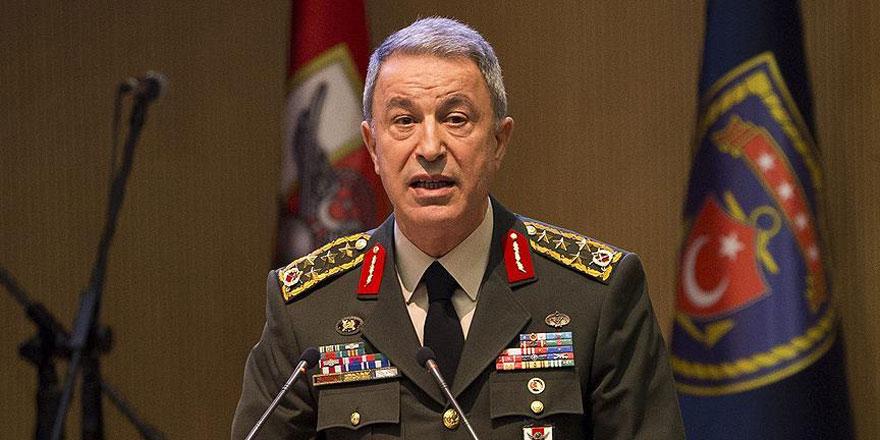 Genelkurmay Başkanı Akar: Terörle mücadelemiz azim ve kararlılıkla sürecektir