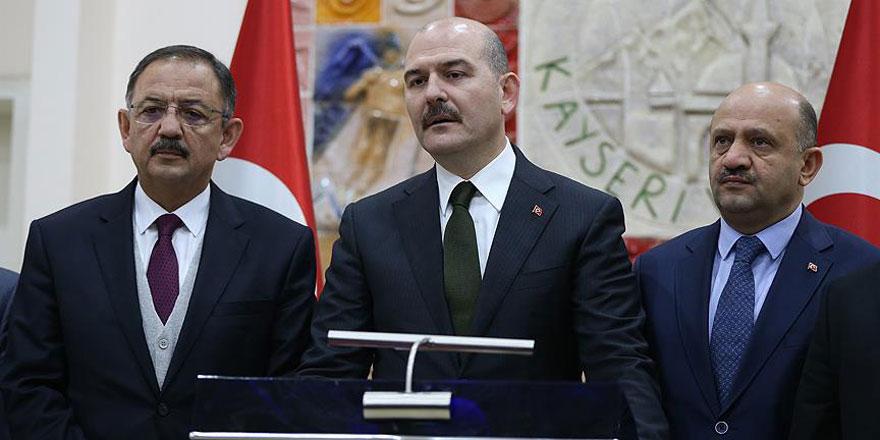 İçişleri Bakanı Soylu: 7 kişi gözaltında, 5 kişi de aranıyor