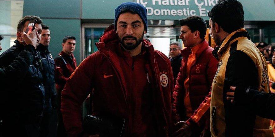 Galatasaray kafilesi Ankara'da