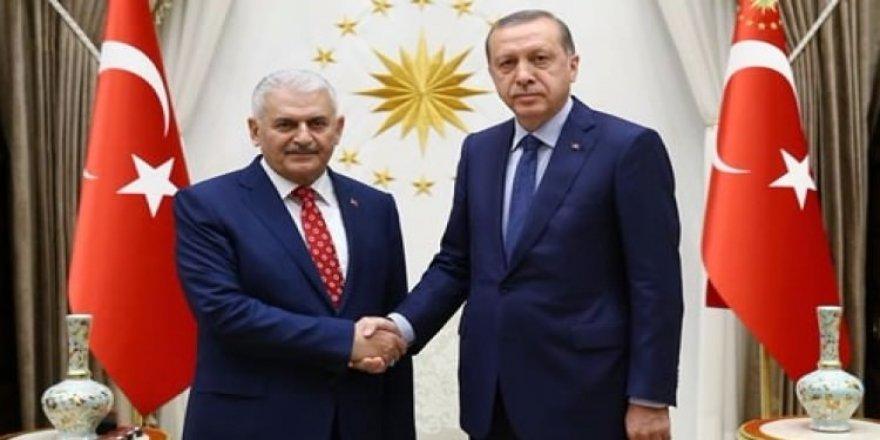 Erdoğan-Yıldırım görüşmesi sona erdi