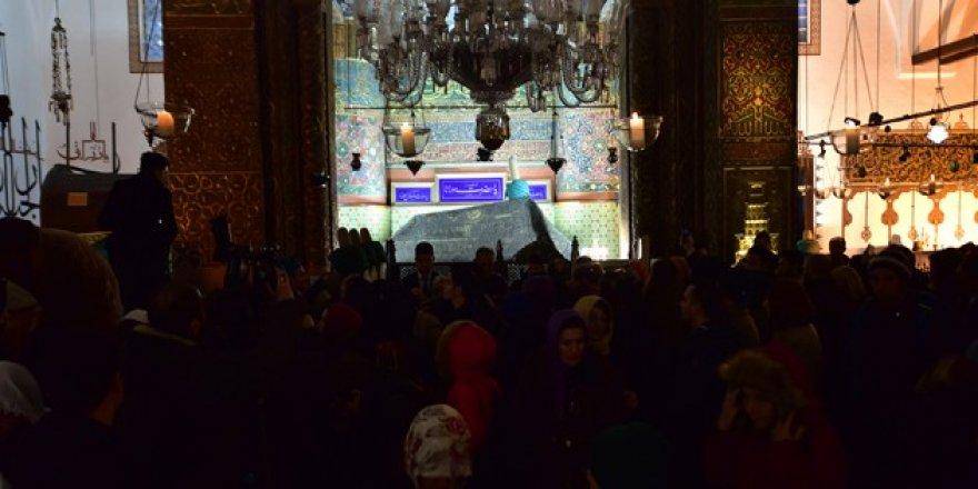Kültür Bakanı Avcı, Mevlana Türbesi'ndeki duaya katıldı