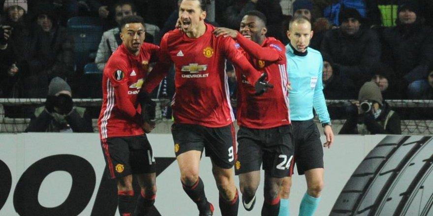 Manchester United, Ibrahimovic ile güldü