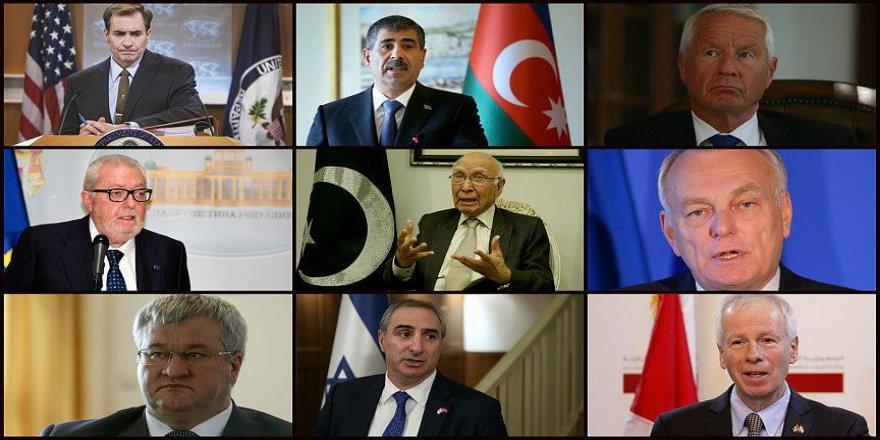 Kayseri'deki terör saldırısına dünyadan tepkiler