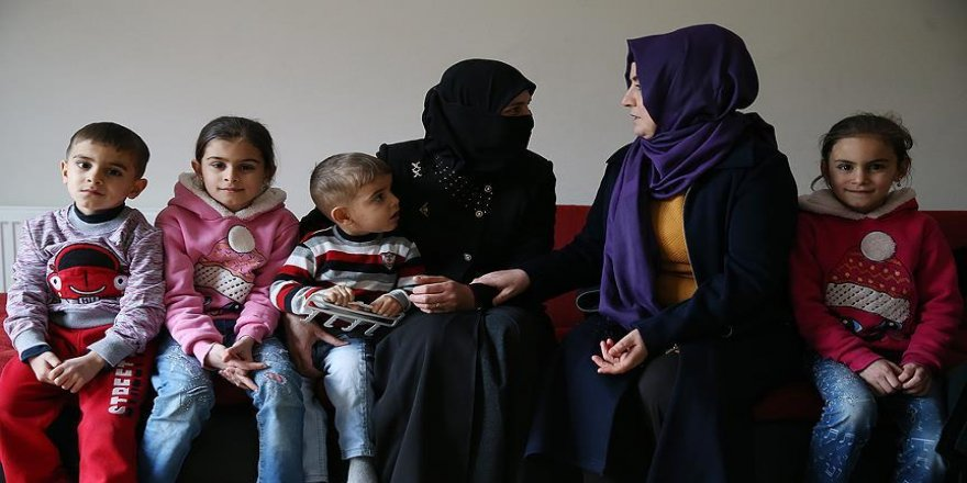 Suriyelilere gönüllerini açtılar
