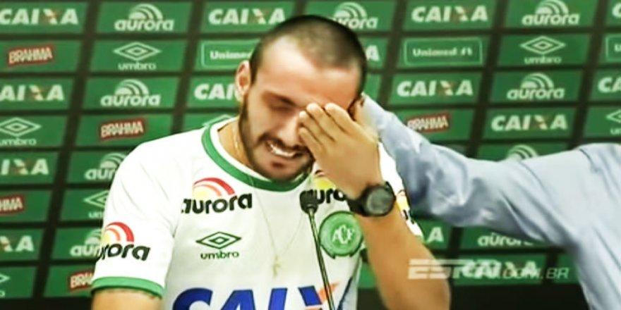 Basın toplantısında bütün dünyayı ağlattı!