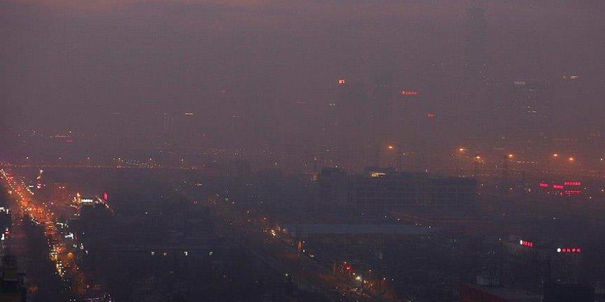 Çin'de hava kirliliği nedeniyle kırmızı alarma geçildi