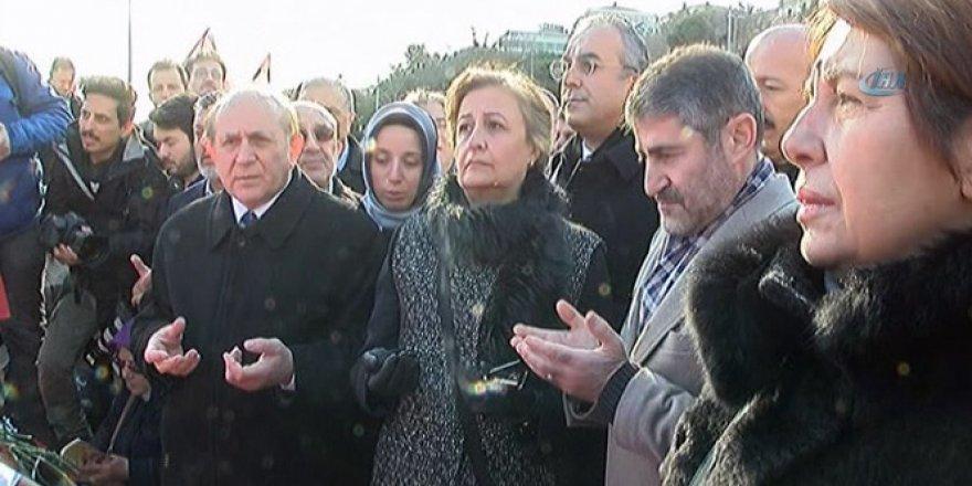 AK Parti İstanbul milletvekilleri Şehitler Tepesi'nde dua etti
