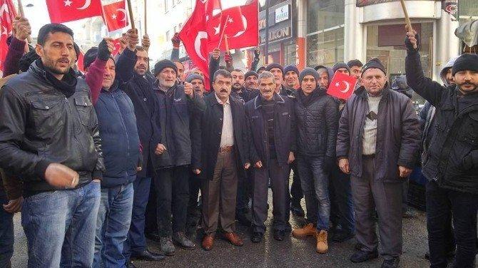 Pazarcılardan Kayseri saldırısına tepki