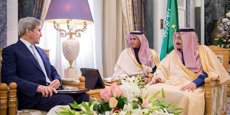 ABD Dışişleri Bakanı Kerry Suudi Arabistan'da