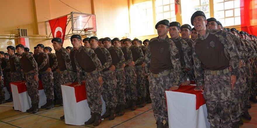 Özel harekat polisleri için yemin töreni düzenlendi