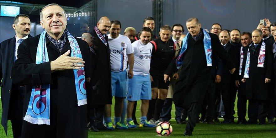 Şenol Güneş Stadyumu, Erdoğan'ın katılımıyla açıldı