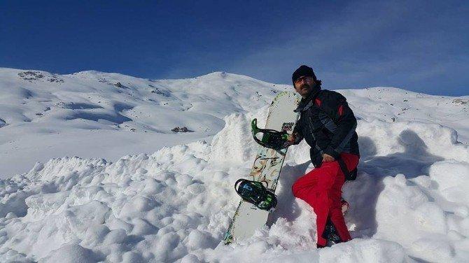 Kayak merkezinde piknik keyfi