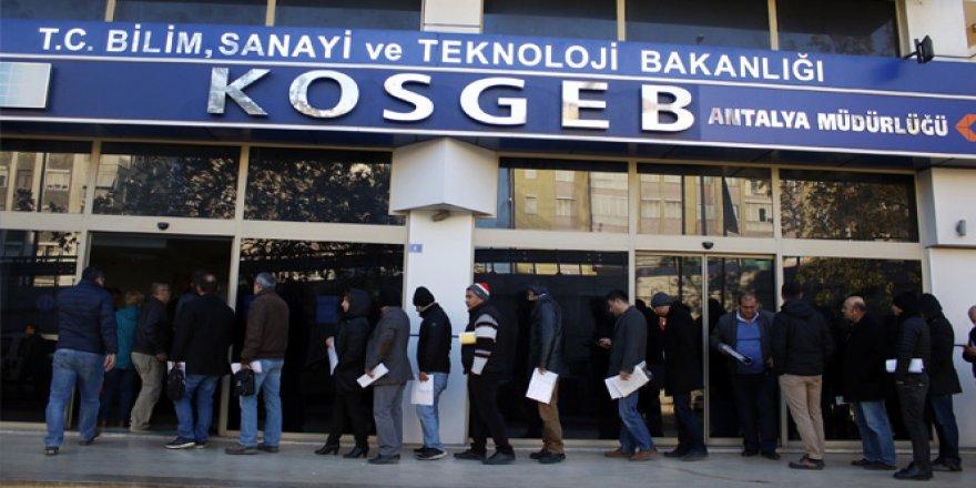 KOSGEB kredi başvuruları başladı!