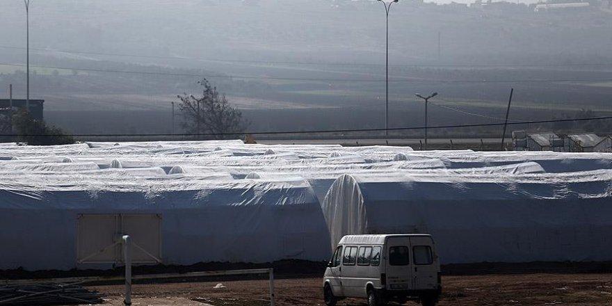 Reyhanlı'da bin kişilik çadır kent hazır