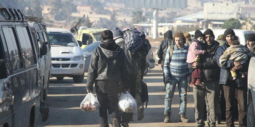 Halep'ten çıkarılanların sayısı 14 bini aştı