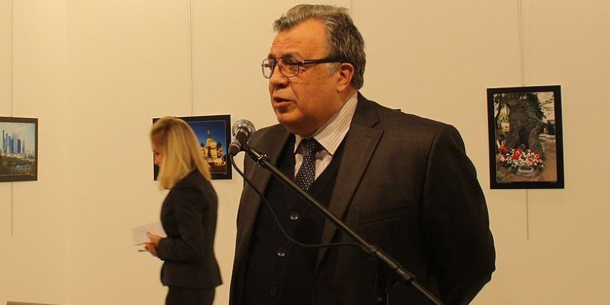 Russian envoy to Turkey shot dead in Ankara