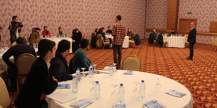Konya'da Suriyelilere girişimcilik eğitimi