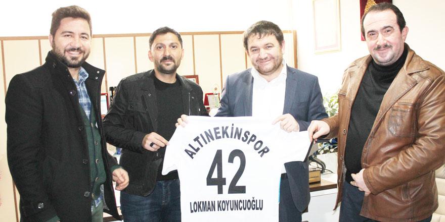 Altınekinspor'dan Yeni Haber'e ziyaret