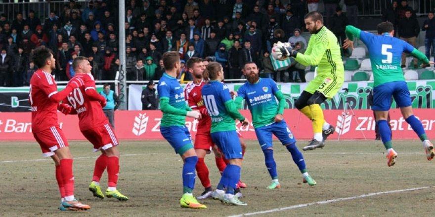 Gol düellosunu Sivasspor kazandı