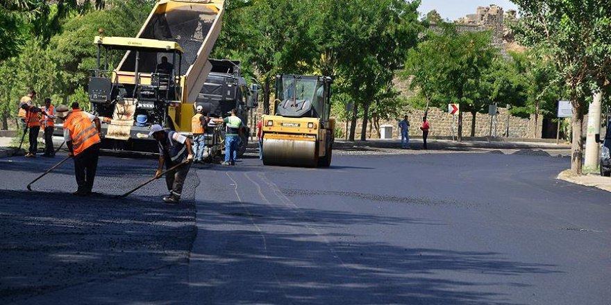 Görevlendirme yapılan belediye asfaltlama çalışmalarını tamamladı