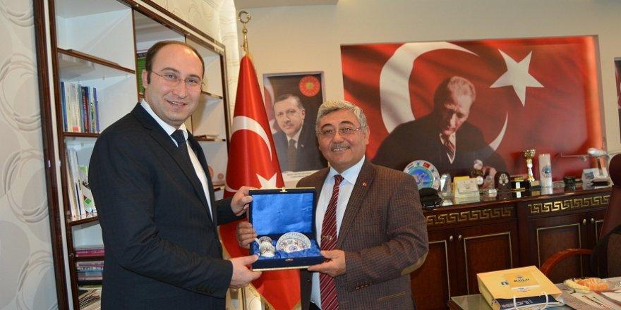 KOP Başkanı Bostancı'dan Yıldız'a ziyaret