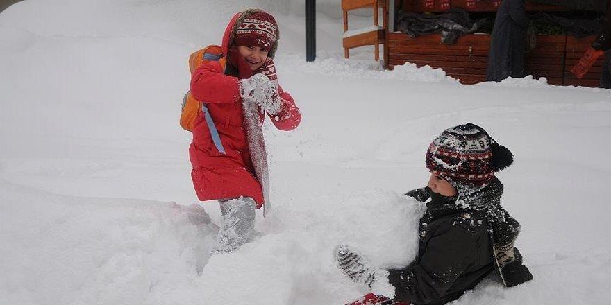 Konya'nın bu ilçelerinde eğitime kar tatili!
