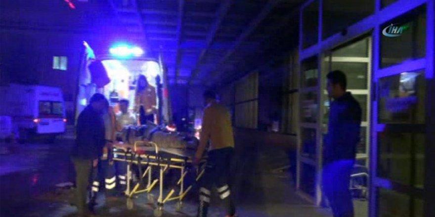 El-Bab operasyonunda yaralanan 6 Türk askeri Kilis'e getirildi