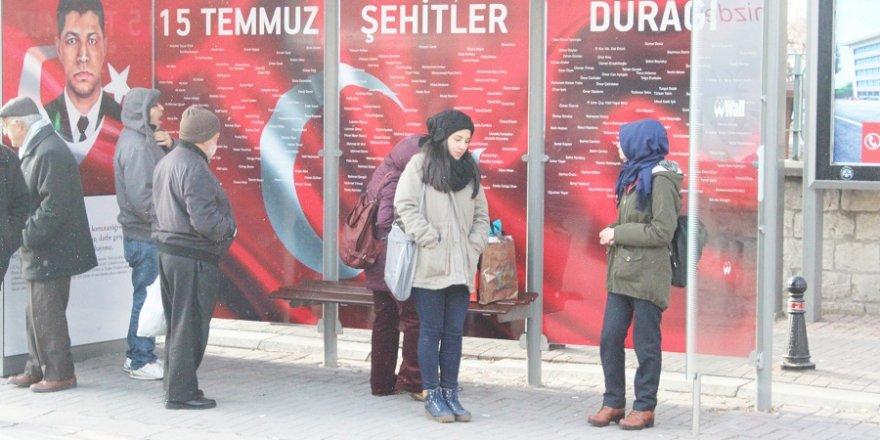 Konya, 15 Temmuz Şehitlerini unutmuyor