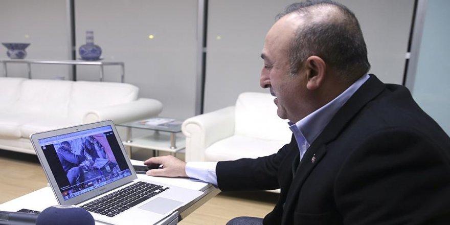 Bakan Çavuşoğlu'na göre yılın fotoğrafları