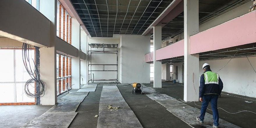 Darbecilerin yargılanacağı salon inşaatı bitiyor