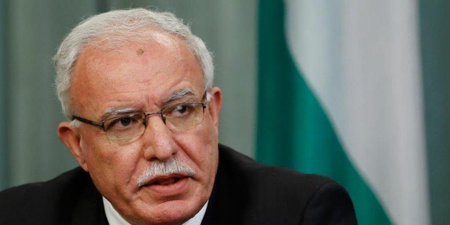 Filistin Dışişleri Bakanından AB'ye 'Filistin'i tanıma' çağrısı