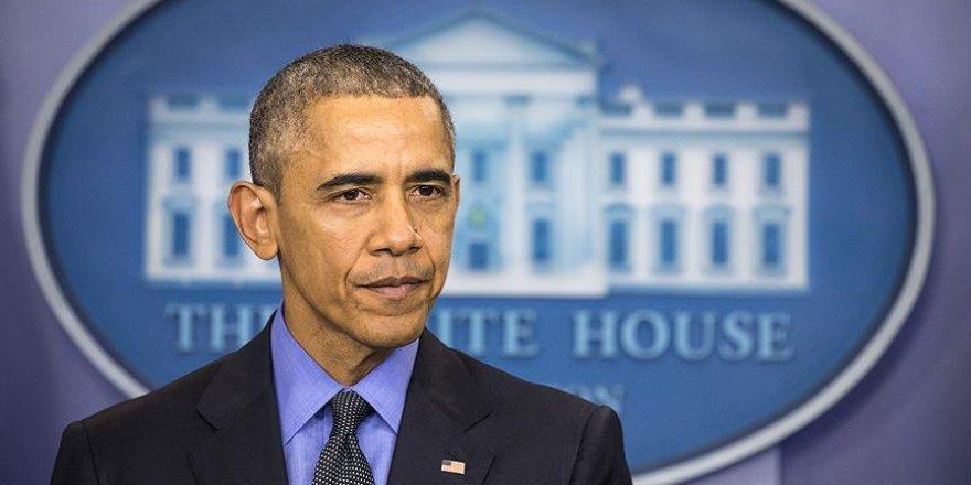 Obama: İki devletli çözüm için zamanın geçmesinden endişeliyim