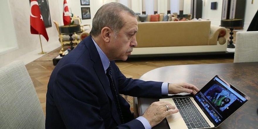 Cumhurbaşkanı Erdoğan'a göre yılın fotoğrafları