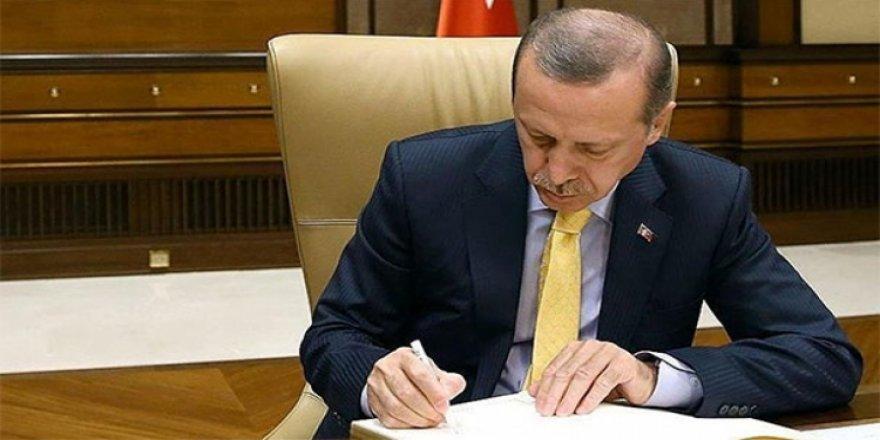 Cumhurbaşkanı Erdoğan'dan iki önemli atama