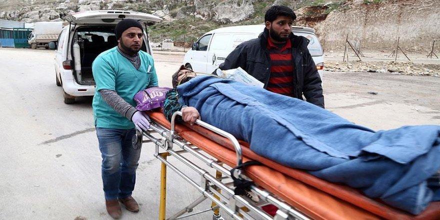 Halep'ten getirilen yaralı sayısı 203 oldu