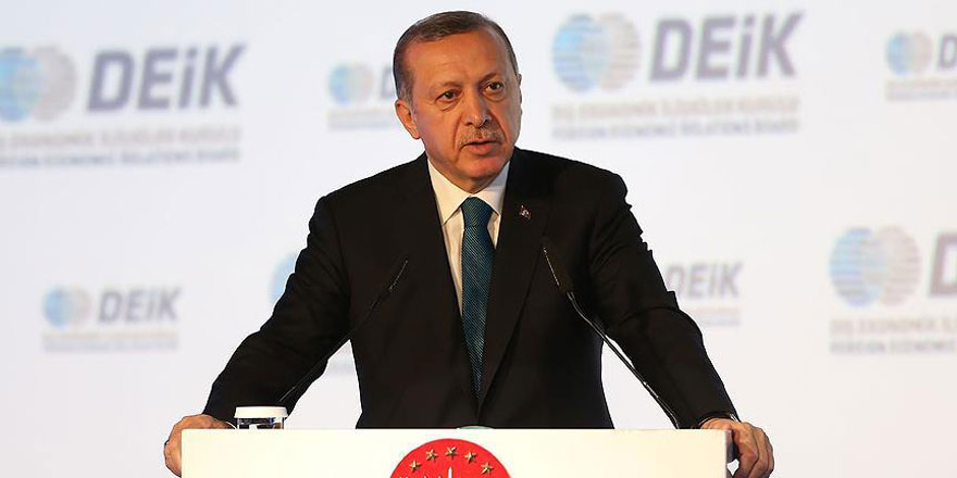 Cumhurbaşkanı Erdoğan: Böyle bir devletin kurulmasına müsaade etmeyeceğiz