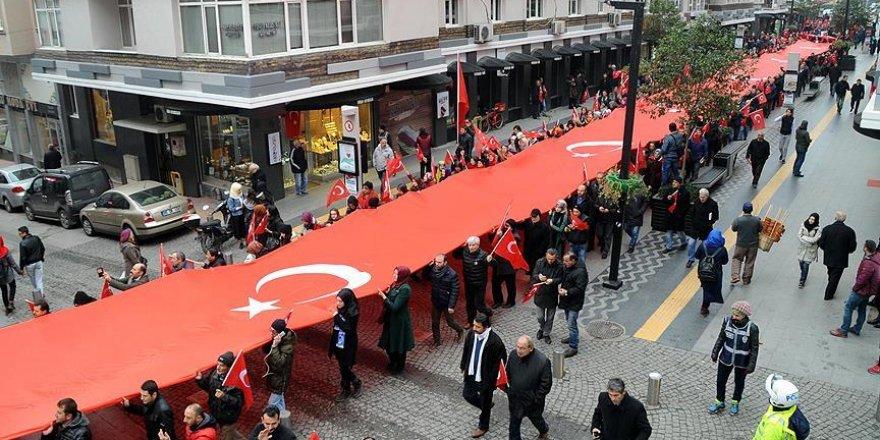 Samsun'da 'Teröre karşı birlik' mitingi