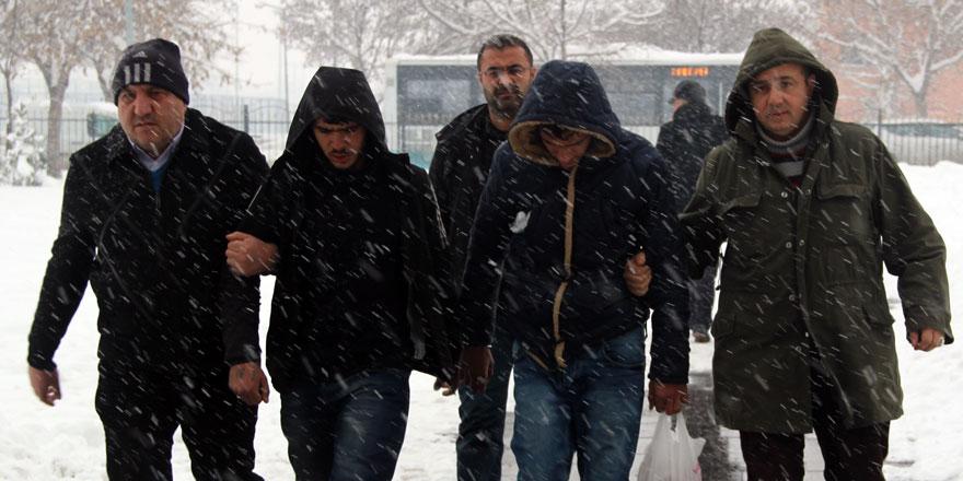 Konya'da yağma ve hırsızlık iddiası