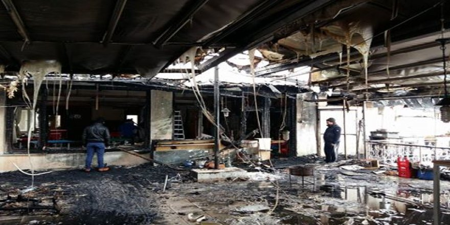 TSYD Konya Şubesi'nde yangın